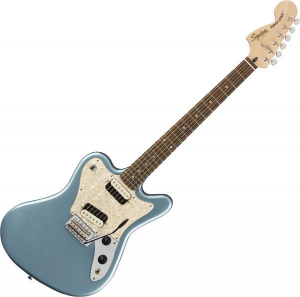 Guitare électrique solid body Squier Paranormal Super-Sonic - Ice blue metallic