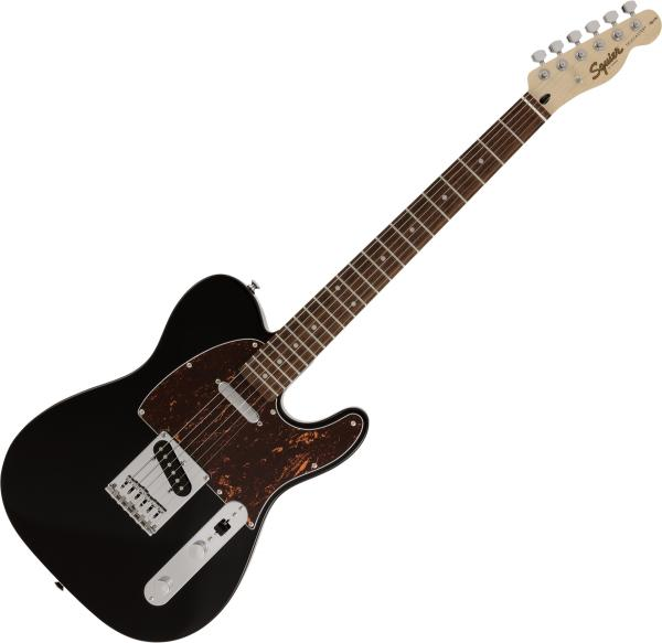Guitare électrique solid body Squier Affinity Series Telecaster Tortoiseshell Pickguard FSR Ltd - Black