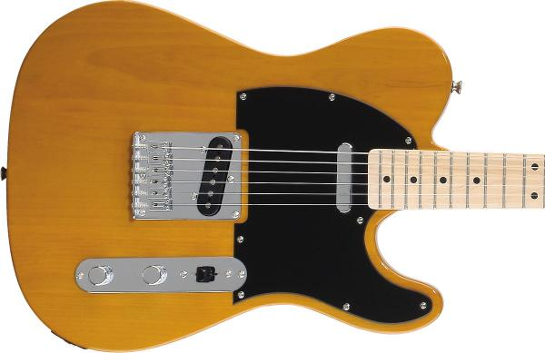 Guitare électrique solid body Squier Affinity Series Telecaster (MN) - butterscotch blonde