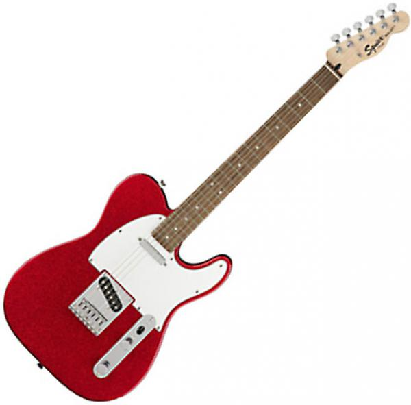 Guitare électrique solid body Squier Bullet Telecaster FSR Ltd (LAU) - red sparkle