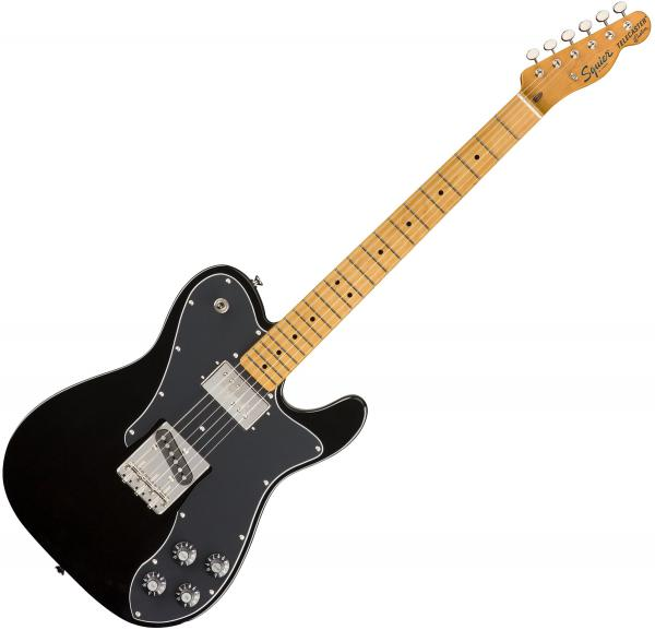 Guitare électrique solid body Squier Classic Vibe '70s Telecaster Custom (MN) - black