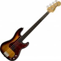 Basse électrique solid body Squier Vintage Modified Precision Bass Fretless - 3 color sunburst