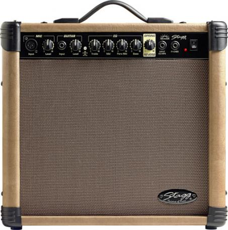 Combo ampli acoustique Stagg 40 AA R EU