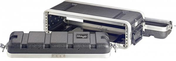 Flight case rack Stagg ABS-2US