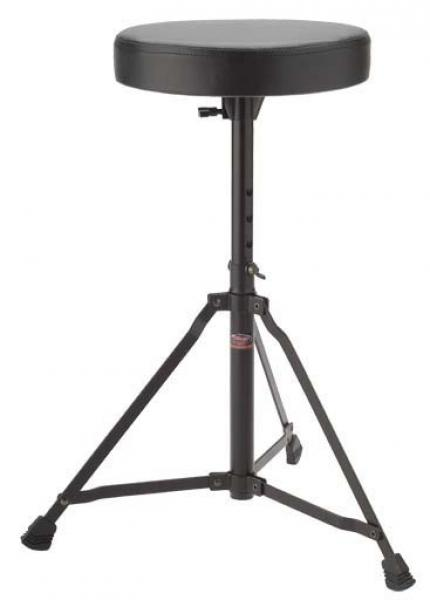 Siège batterie Stagg DT22BK Drum Throne - black