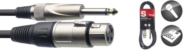 Câble Stagg SMC6XP XLR f / Jack m - 6m