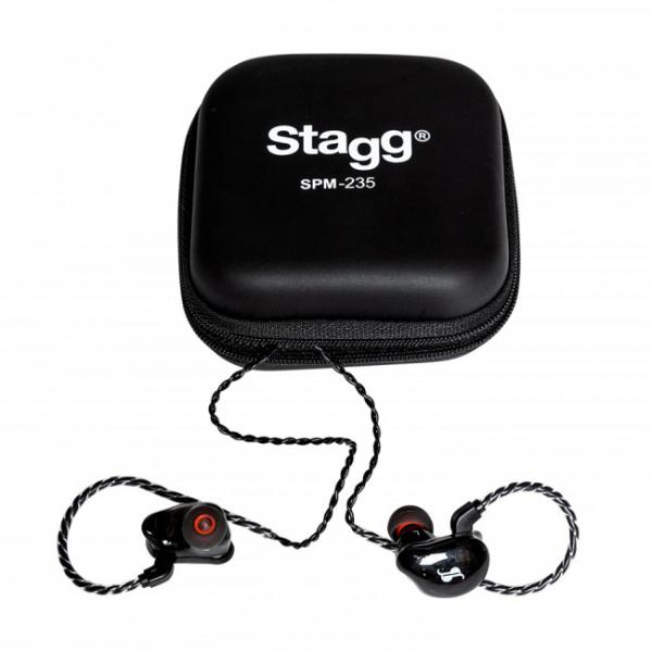 Ecouteur intra-auriculaire Stagg SPM-235 BK Haute Resolution