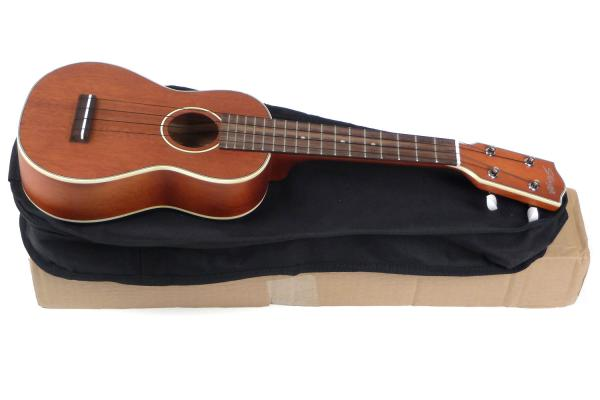 Ukulélé Stagg US80-S Soprano +Bag - natural satin
