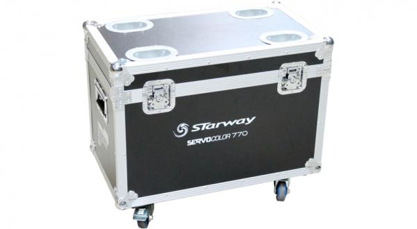 Flight case rangement Starway Flight-case pour 2 Servo Color 770HD