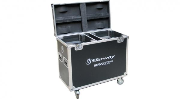 Flight case rangement Starway Flight-case pour 2 Servo Spot 6K