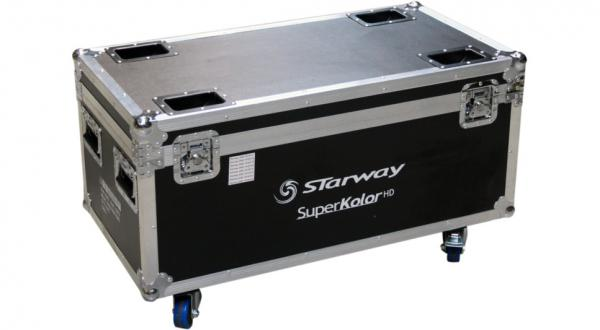 Flight case rangement Starway Flight-case pour 8 SuperKolor HD