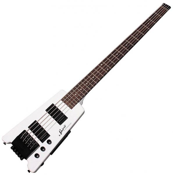 Basse électrique solid body Steinberger XT-25 Standard Bass Outfit +Bag - White