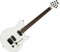 Guitare électrique solid body Sterling by musicman SUB Axis AX3 - White