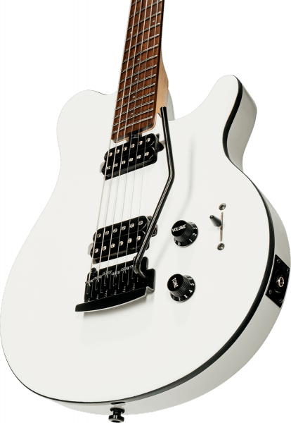 Guitare électrique solid body Sterling by musicman Axis AX3S - white