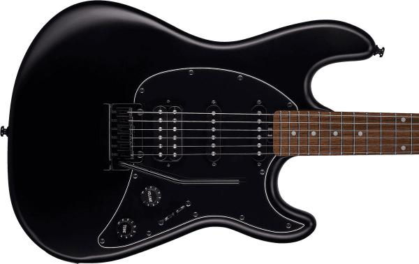 Guitare électrique solid body Sterling by musicman Cutlass CT30HSS - stealth black