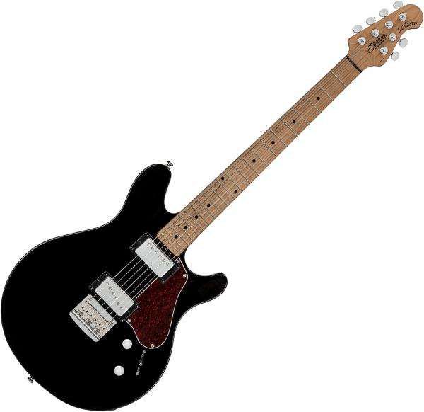 Guitare électrique solid body Sterling by musicman James Valentine JV60 - Black