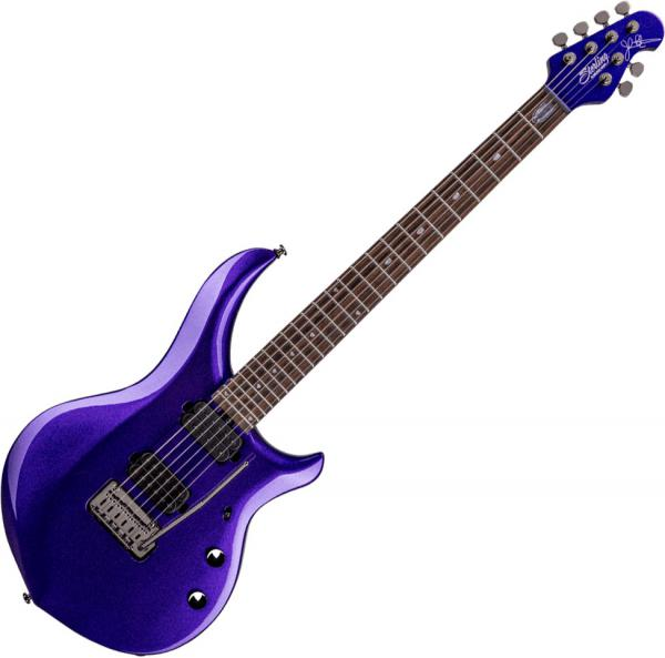 Guitare électrique solid body Sterling by musicman John Petrucci Majesty X MAJ100X - Purple metallic