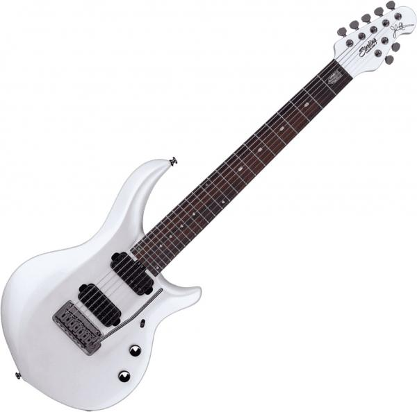 Guitare électrique solid body Sterling by musicman John Petrucci Majesty X MAJ170X - Pearl white