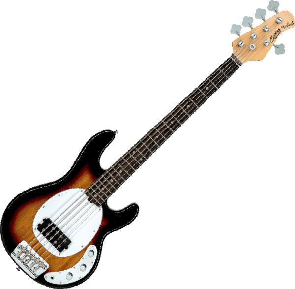 Basse électrique solid body Sterling by musicman Ray25 Classic - 3 tone sunburst
