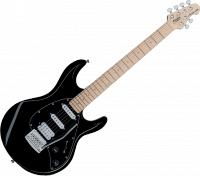 Guitare électrique solid body Sterling by musicman SUB Silo3 - Black