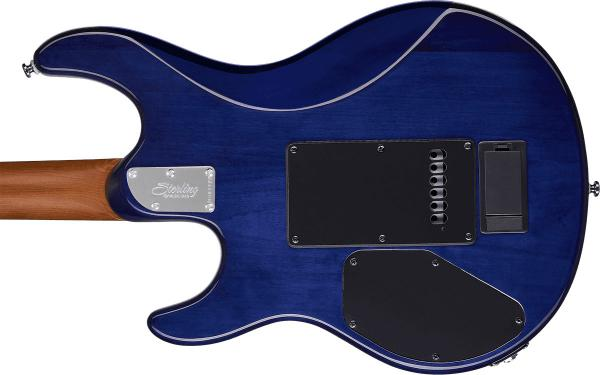 Guitare électrique solid body Sterling by musicman Steve Lukather Luke LK100 - blueberry burst