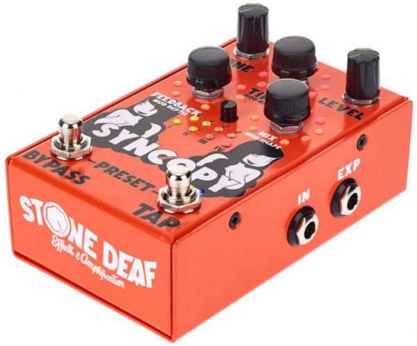 Pédale reverb / delay / echo Stone deaf Syncopy Analog Delay