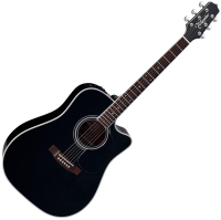 Guitare folk Takamine Legacy Japan EF341SC - Black gloss