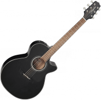 Guitare folk Takamine GF30CE-BLK - Black gloss