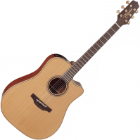 Guitare folk Takamine P3DC Pro Japan - Natural satin