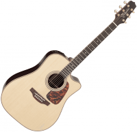Guitare folk Takamine P7DC Pro Japan - Natural