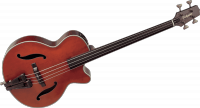 Basse folk Takamine TB10 Bass - Red stain