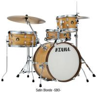 Batterie acoustique jazz Tama Club-JAM Kit - 4 fûts - Satin blonde