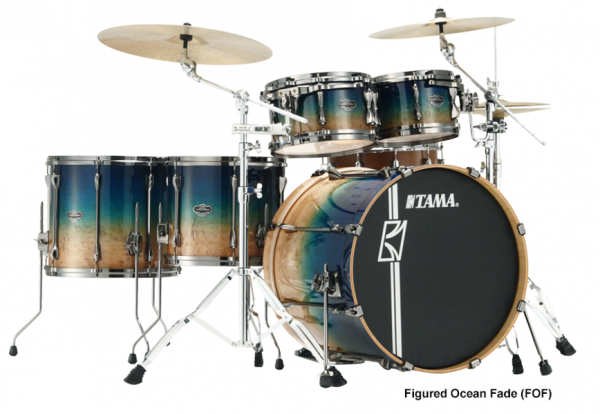 image Superstar Hyper-Drive Limited Edition ML52HLZBSG-FOF - 5 fûts - figured ocean fade
