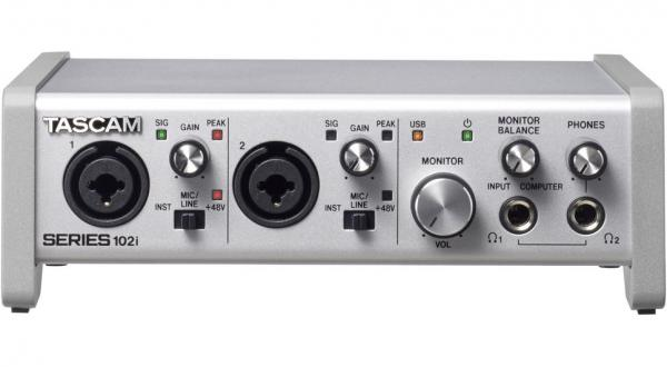Interface audio usb Tascam Series 102I