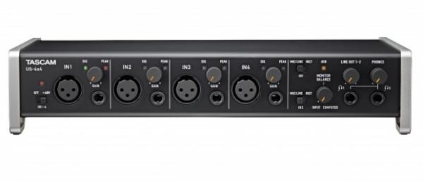 Interface audio Tascam US 4X4