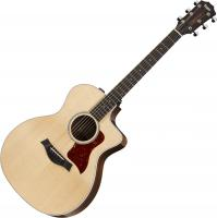 Guitare folk Taylor 214ce-CF DLX - Natural