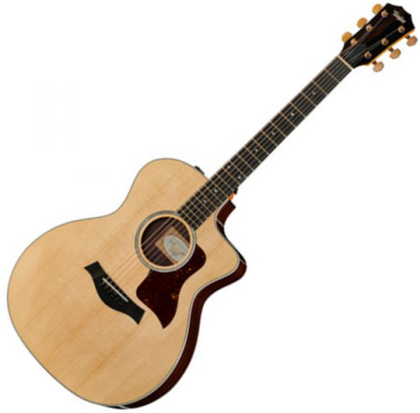 Guitare folk & electro Taylor 214ce DLX Rosewood - Natural