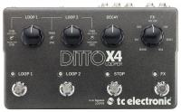 Pédale looper Tc electronic Ditto X4 Looper