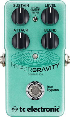 Pédale compression / sustain / noise gate  Tc electronic HyperGravity Compressor