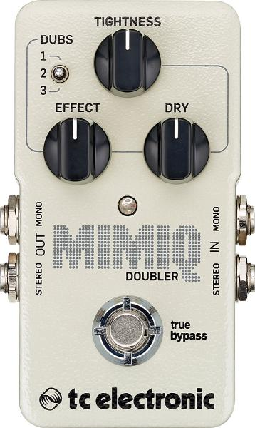 Pédale eq. / enhancer / buffer Tc electronic Mimiq Doubler