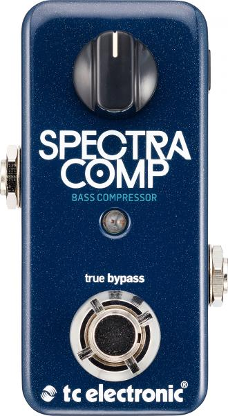 Pédale compression / sustain / noise gate Tc electronic SpectraComp Bass Compressor