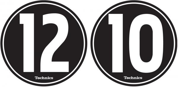 Feutrine Technics LP-Slipmat 12-10 (mixed set)