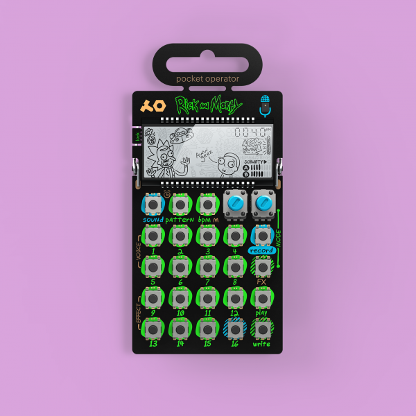 Expandeur Teenage engineering PO-137 Rick et Morty