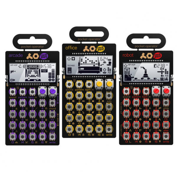 Pack home studio Teenage engineering PO-20 Serie Pocket Operator Bundle