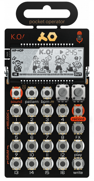 Sampleur / groovebox Teenage engineering PO-33 K.O!