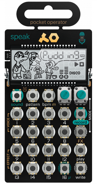 Expandeur Teenage engineering PO-35 speak