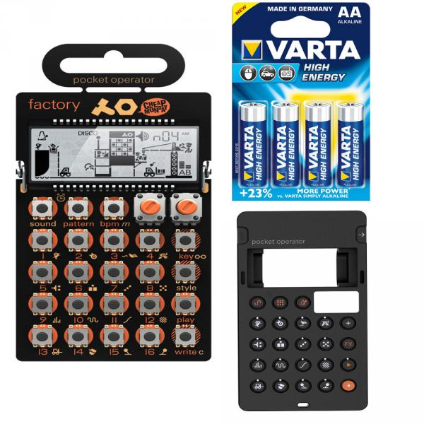Expandeur Teenage engineering Pocket Operator PO-16 Factory + Case + Piles