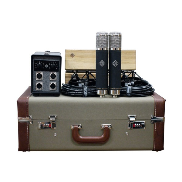 Paire, kit, stereo set micros Telefunken AK-47 MKII Stereo Set
