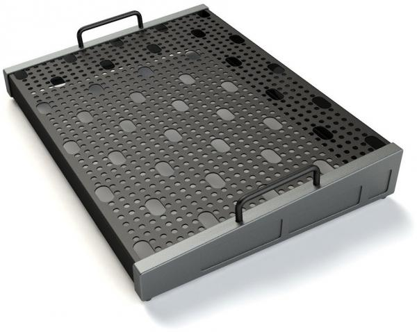Pedal board flight pour effet Temple audio design Templeboard Duo 17 + Soft Case - Gunmetal Grey