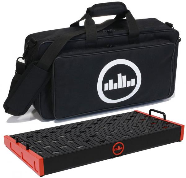 Pedal board flight pour effet Temple audio design Templeboard Duo 24 + Soft Case - Temple Red